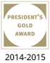President's Gold Ward 2014-2015