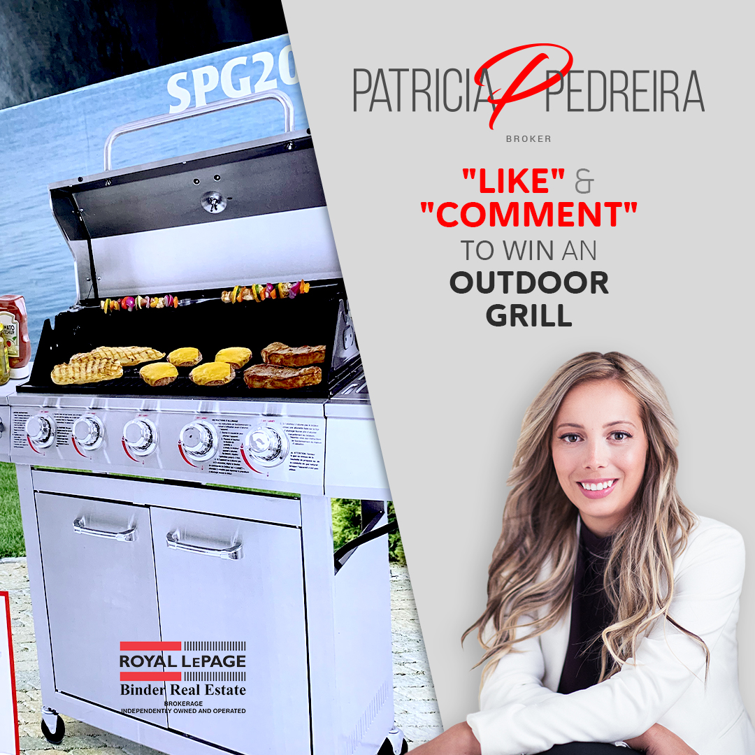 Just in time for summer! Enter for Your Chance to Win an Outdoor Grill