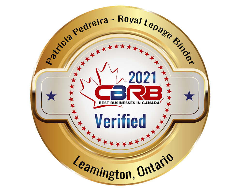 Proud to be Recognized by CBRB as one of the Best Realtors in Canada
